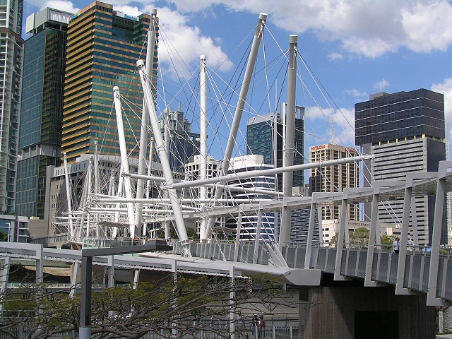 Kurilpa Pedestrian and Bicycle Bridge Brisbane