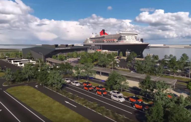 Brisbane International Cruise Terminal QLD