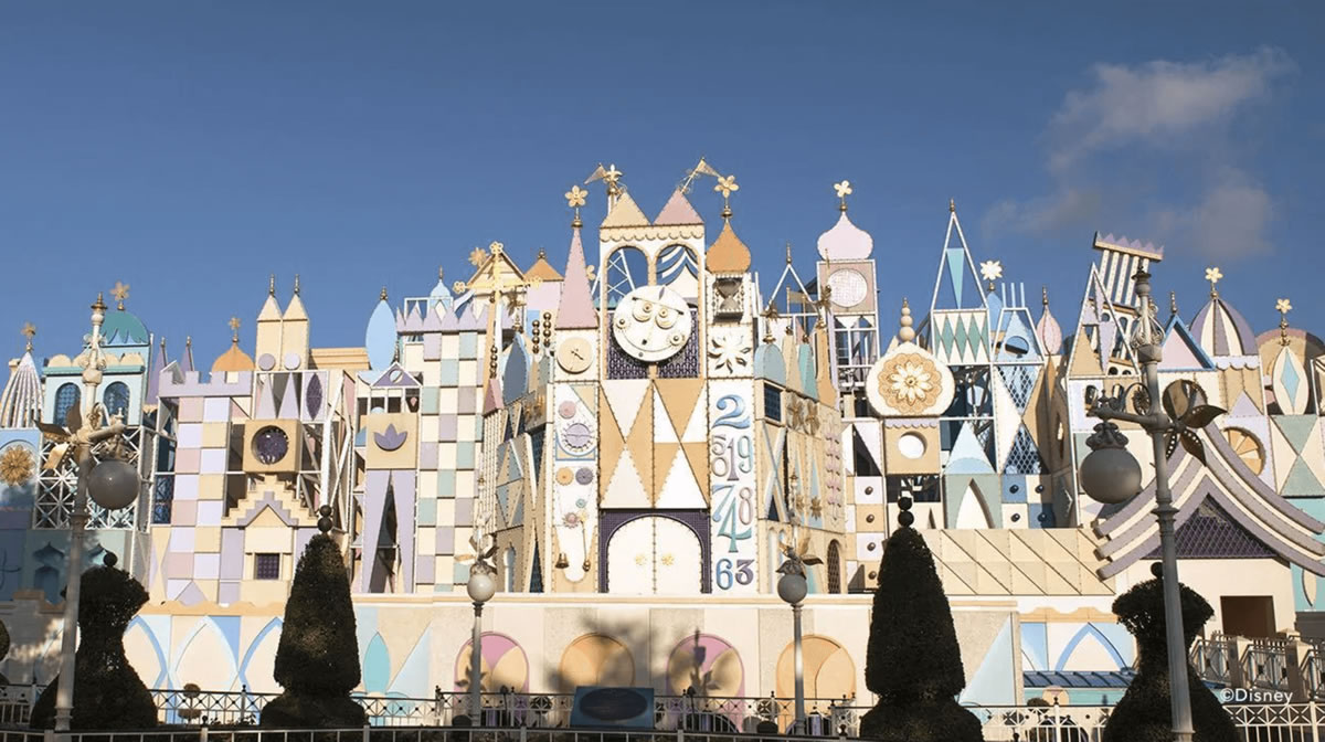 small world disneyland facades by Unison Projects